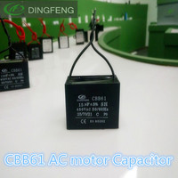 cbb61 2wires sh 8uf 25/70/21 capacitor for water pump