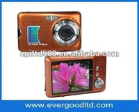 STOCK cheap 12megapixels Digital photo camera with 2.7 inch TFT LCD screen and 8X digital zoom (DC-560)