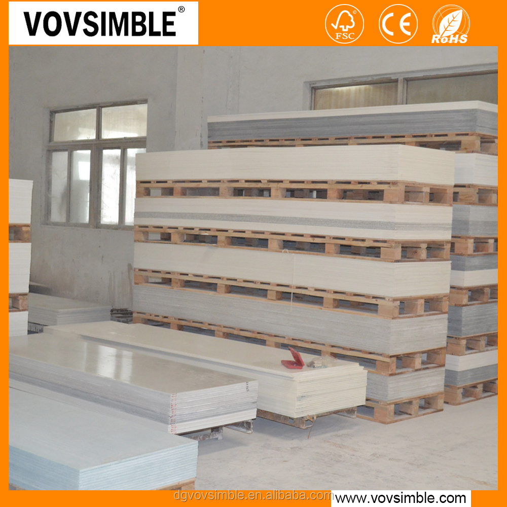 Simble Elegant Marble Solid Surface Material For Decorative