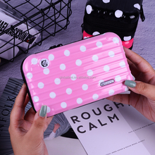 cosmetics bag custom logo women lip makeup bags hard pouch Bag plastic