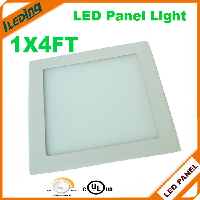 UL listed Recessed Ultrathin Dimmable Flat LED Panel Light