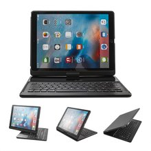For iPad Air 2 Keyboard, Wireless Bluetooth Keyboard Case Cover 360 degree Rotatable Keyboard for Apple iPad Air 2
