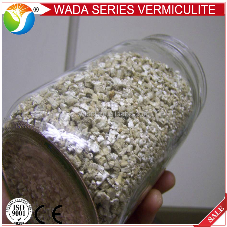 raw vermiculite / silver vermiculite / gold vermiculite plate for sale
