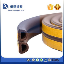 extrusion window rubber seal & Window Rubber D Shape EPDM
