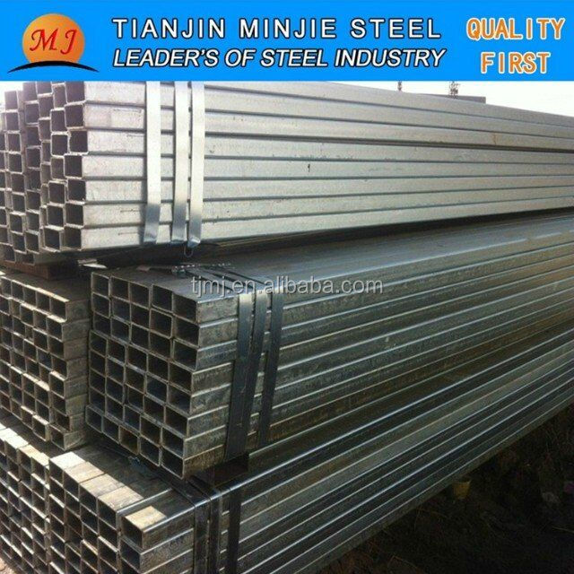 Cold rolled Q235 rectangular/square carbon steel pipe/ tube