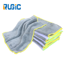 Whole One Pc fleece/coral velvet Car Wash Towels Microfiber Kitchen/Car Cleaning Cloth