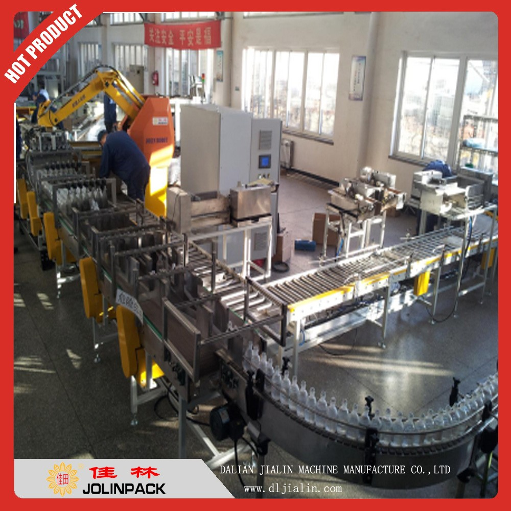 Auto case packing line