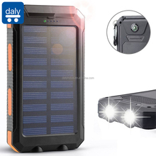 SEDEX 10000mAh Waterproof Power Bank Solar Charger With Compass and SOS