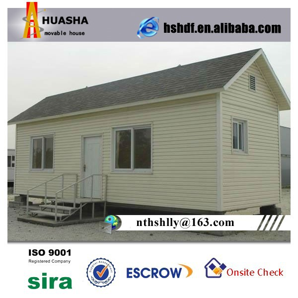 Prefab Wooden House PVC WPC Wall