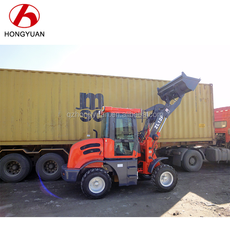 ZL12F mini used front wheel loader