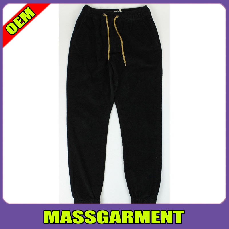 New Mens Black Skinny Joggers Design Sports Trousers Customized Pants