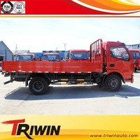 chinese famous brand EURO 4 diesel engine 115hp 85KW 4x2 2 ton mini goods wagon