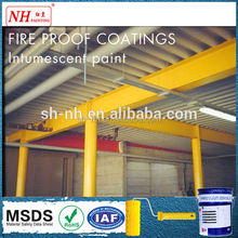 Fireproof intumescent coating for steel structure
