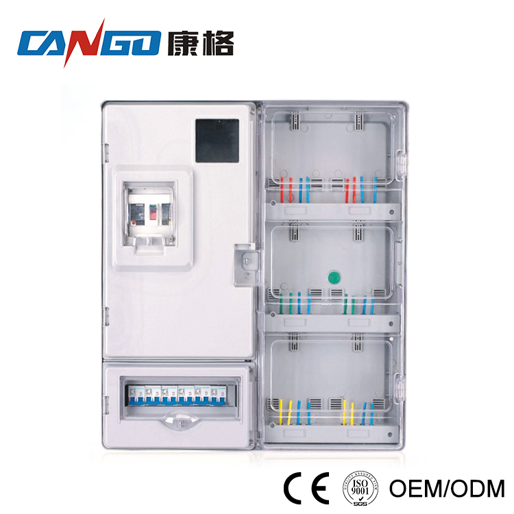 China Cheap plastic electric meter box cover