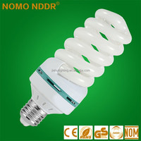Yiwu 65w 220V B22 E27 Full Spiral Energy Saving Lamp Light Bulb CFL
