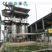 ZL-3 100TPD Waste mineral oil n black engine oil to base oil distillation purifier