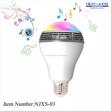 App Controlled Music Bulb LED Light Bulb Bluetooth Speaker