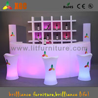 Led Cocktail Table Mobile Bar Home