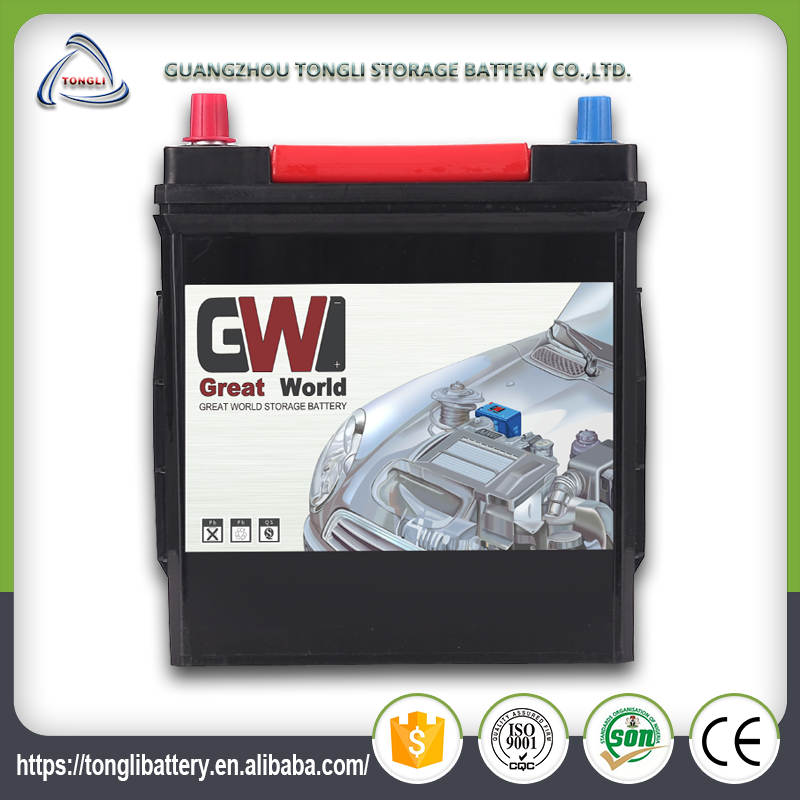 12V auto battery high quality vrla auto car battery