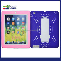 Hot Sales Polka-dot Slim Hard Plastic Back Smart Cover Case for iPad2/3/4