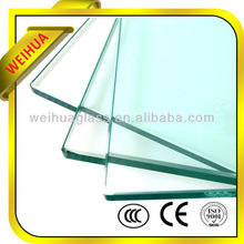 10mm Thick Clear tempered glass house window For Building With CE Certificate