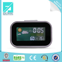 Fupu Wholesale Suppliers Cheap weather station alarm clocks, Desktop table Alarm Clock ,LCD clocks online shop selling clock