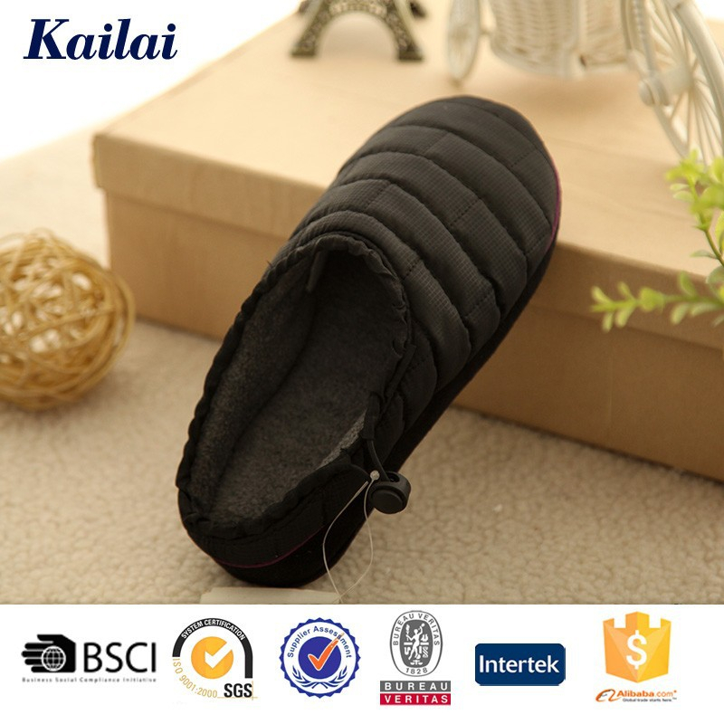 newfangled waterproof faric convenient massager man slipper