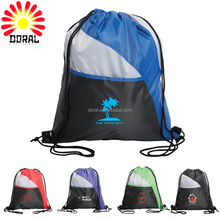 Screen Print Waterproof Gym Sack Bag Custom Gym Fashion Drawstring Bags
