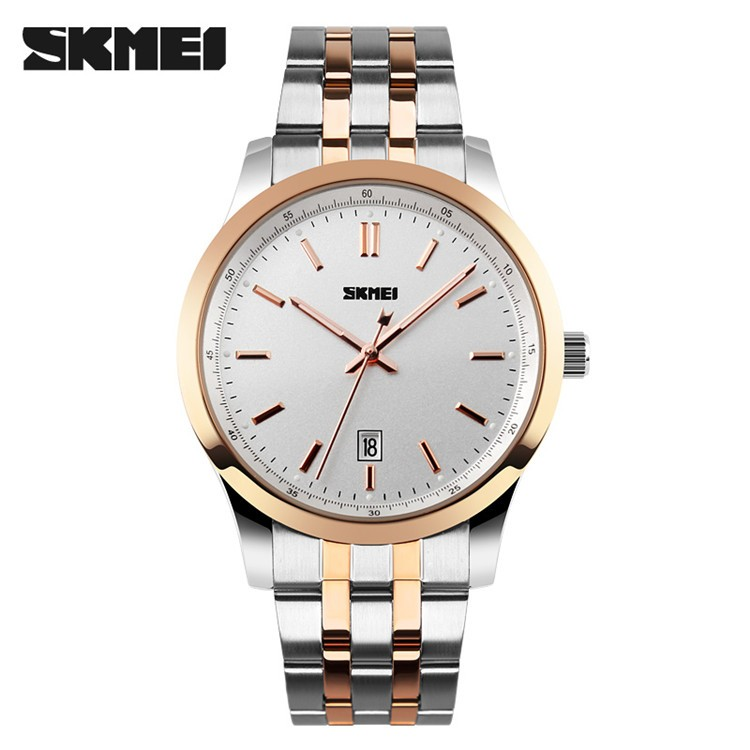 2016 fashion gold watch stainless steel band man quartz watch