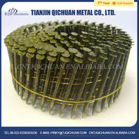 Factory sale directly durable ring shank coil nails