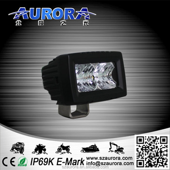 AURORA high quality new product 2inch single row 10w offroad led light bar