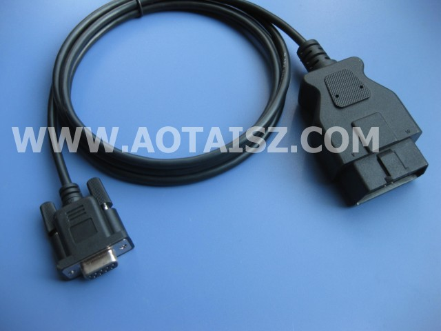 J1962 cable OBD 16P male to DB9 diagnostic cable