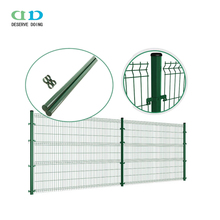 Steel mesh fence panels/1 x 2 galvanized welded wire