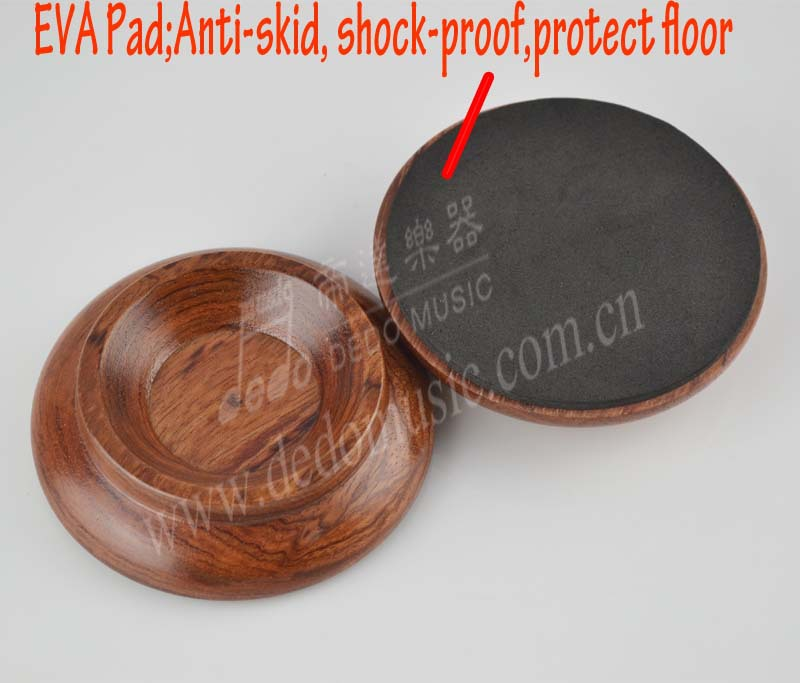 Rose wood Upright Piano Pads Floor Carpet Protector