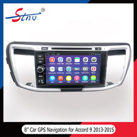 Android 4.4 Car DVD Player For Accord With Navigation/GPS/SWC/Radio