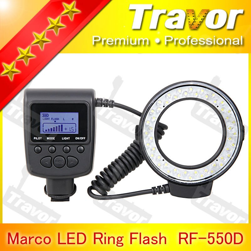 Hot selling RF-550 series for canon nikon sony olympus macro led ring flash