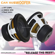 "Car audio China 2000W 4"" voice coil 12 inch car audio subwoofer JLD AUDIO"