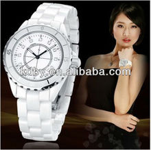 Ceramic Watch Band Lady Dress Wrap Bracelet Watch