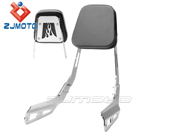 Motorcycle All Years Honda VTX 1300C Sissy Bar Backrest Motorcycle Passenger Seat Pad