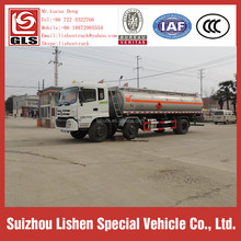 Oil Delivery Transport Truck New Brand Dongfeng 6*2 Oil Tanker 210hp Oil Bowser Fuel Tanker
