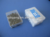 nail cable clips in plastic box