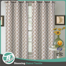Fancy French cold room woven jacquard curtain fabric for door curtain