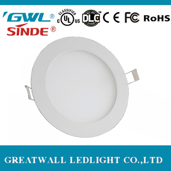 3w 6w 9w 12w 15w 18w 20w 24w smd2835 slim round square led panel