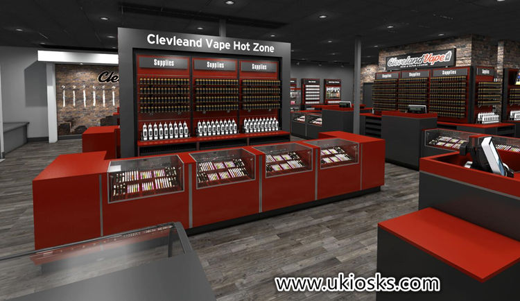 Electronic cigarette retail store