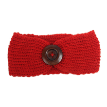 New Hot Winter Warm Hair Accessories Handmade Wool Knitted Baby Girl Headband