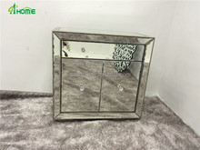 fashion hobby lobby 2 door mirrored sidetable