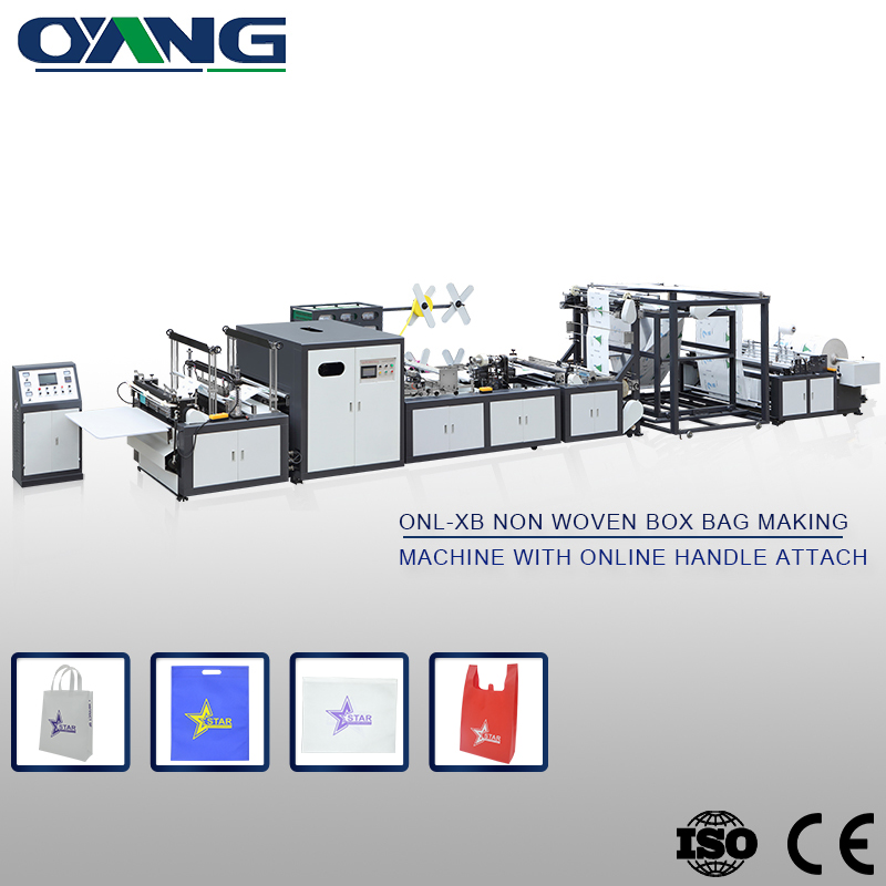 Durable Low Noise non woven bag making machine in china