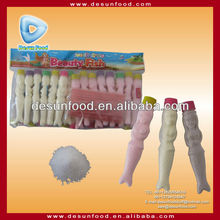 2013 New design Beauty Fish bottle sour candy powder candy(fruit&milk)