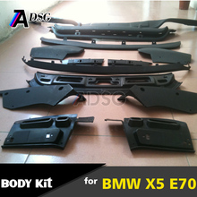 X5 E70 MT tech full set body kit (front bumper+rear bumper+side skirt)