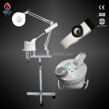 Cheap 3 in 1 electric ozone facial steamer with projector lamp TM-820